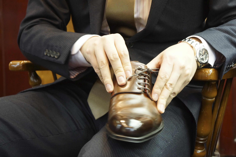 オーダーメイドの靴を作ろう。(札幌で)