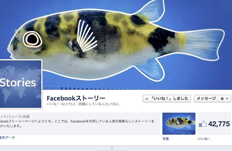 Facebookストーリー。クラウド知識