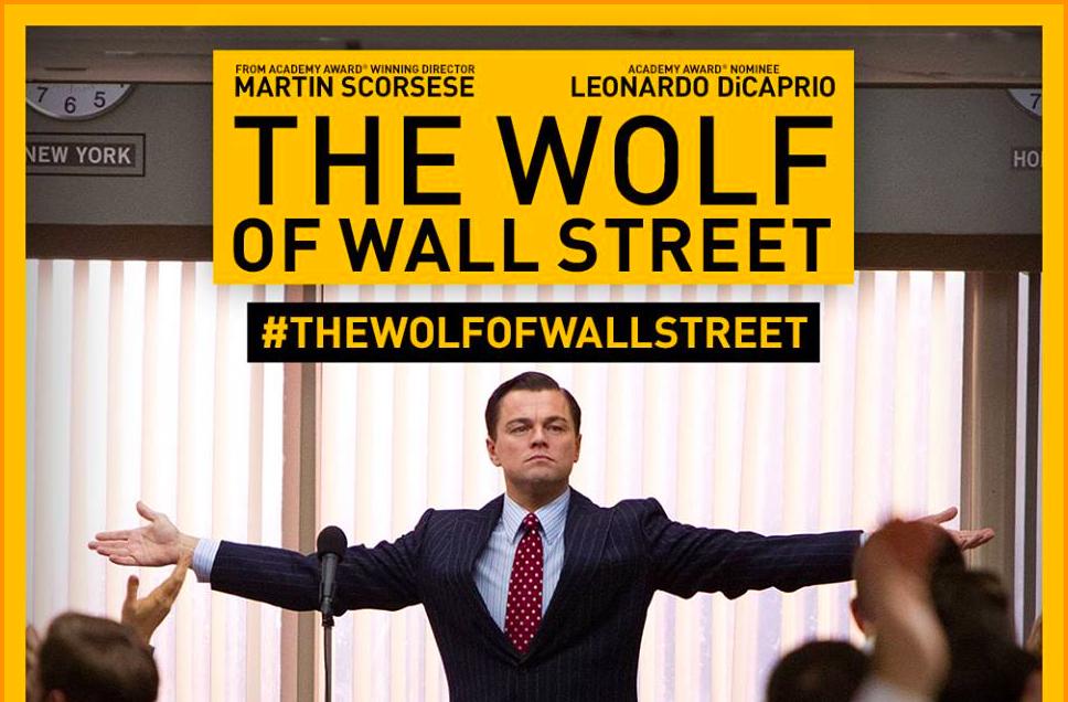 映画「ウルフ・オブ・ウォールストリート」株はマネーゲーム。