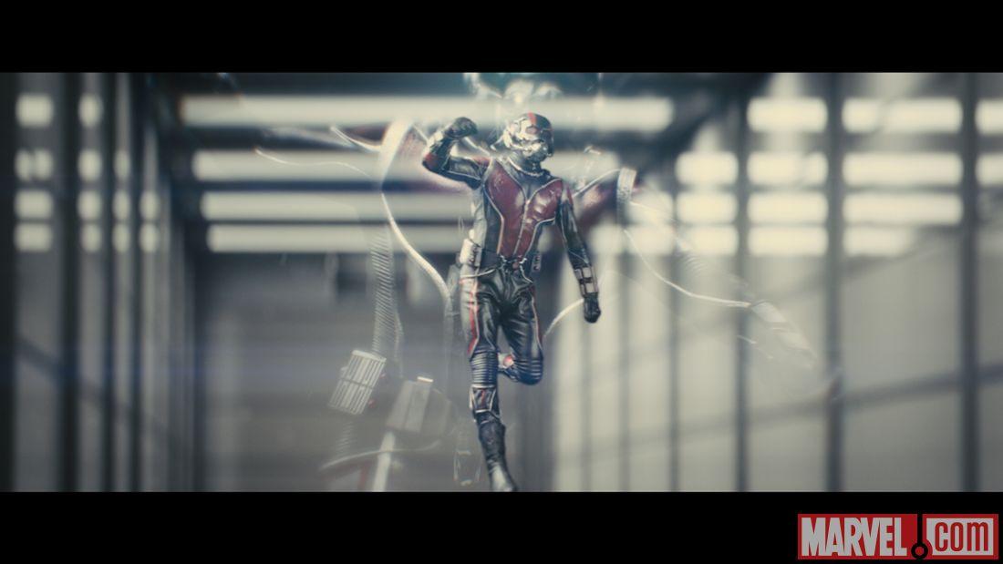もっとも見えにくい予告映画で話題「MARVEL ANT-MAN」