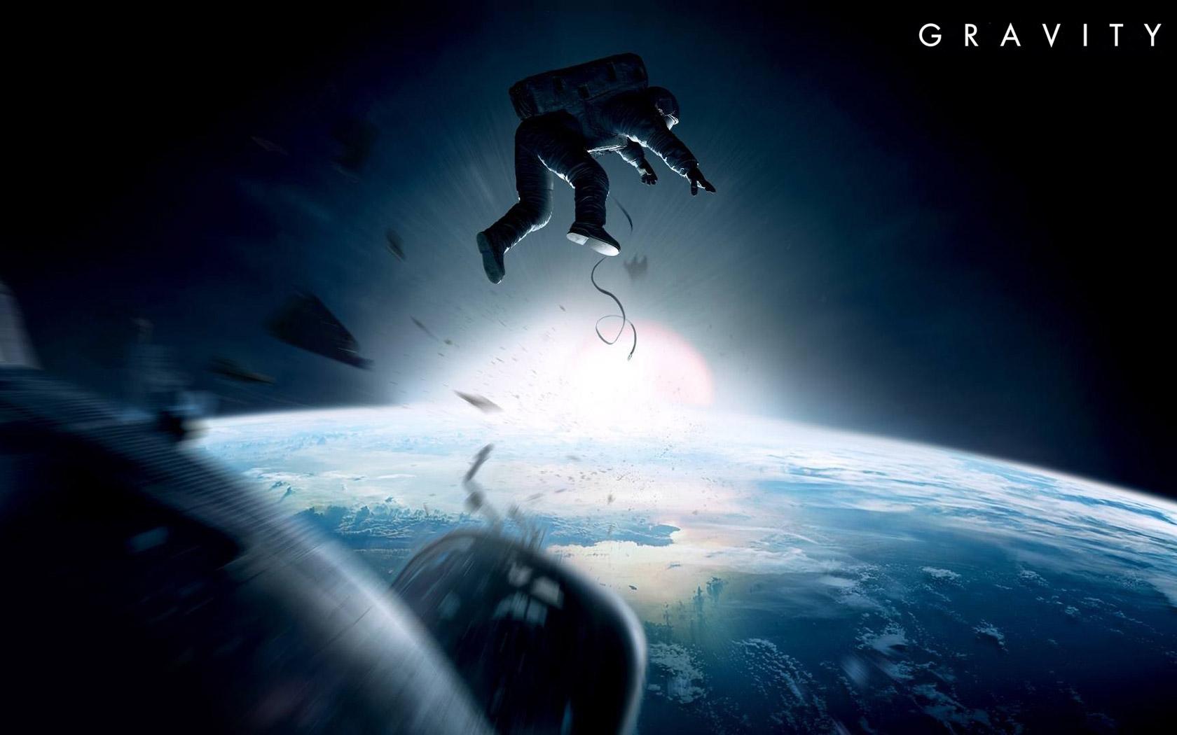 映画「ゼロ・グラビティ」宇宙は美しく黒い永遠だ