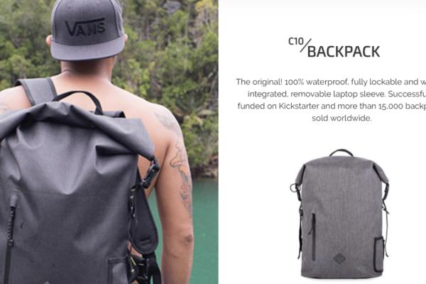 Code10 Backpack 長期レビュー